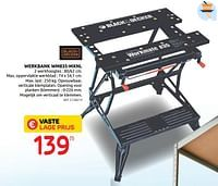 Werkbank wm835-mxnl-Black & Decker