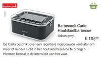 Barbecook carlo houtskoolbarbecue-Barbecook