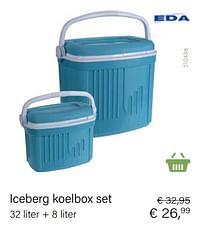 Iceberg koelbox set-EDA