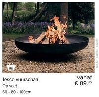 Jesco vuurschaal-Huismerk - Multi Bazar