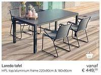 Laredo tafel-Huismerk - Multi Bazar