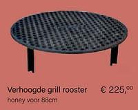 Verhoogde grill rooster-Tiger Fire