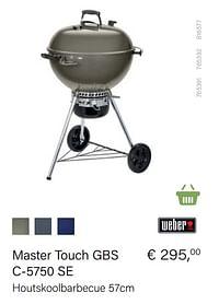 Weber master touch gbs c-5750 se-Weber