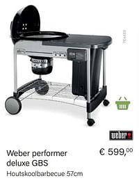 Weber weber performer deluxe gbs-Weber