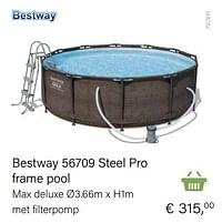 Bestway 56709 steel pro frame pool-BestWay