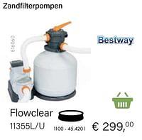 Bestway zandfilterpompen flowclear 11355l-u-BestWay