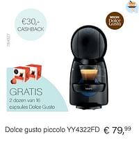 Dolce gusto piccolo yy4322fd-Dolce Gusto