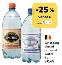 Ginstberg plat of bruisend water-Ginstberg