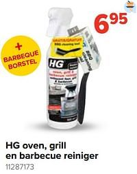 Hg oven, grill en barbecue reiniger-HG