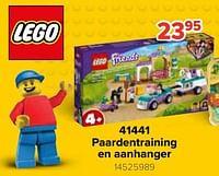 41441 paardentraining en aanhanger-Lego