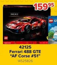 42125 ferrari 488 gte af corse #51-Lego