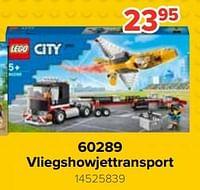 60289 vliegshowjettransport-Lego