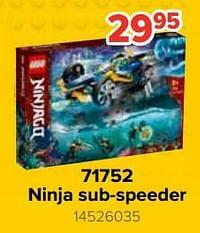 71752 ninja sub-speeder-Lego