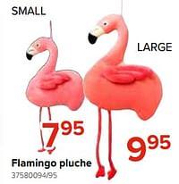 Flamingo pluche-Huismerk - Euroshop