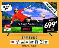 Samsung 4k ultra hd 65tu6905-Samsung