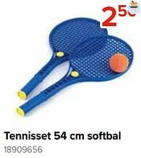 Tennisset softbal-Huismerk - Euroshop