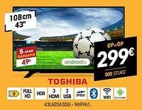 Toshiba 43la2063dg-Toshiba