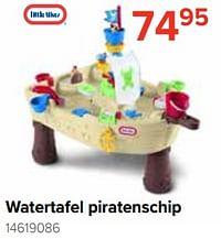 Watertafel piratenschip-Little Tikes