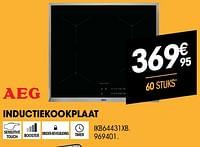 Aeg inductiekookplaat ikb64431xb-AEG