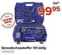 Gereedschapskoffer 101-delig-Huismerk - Euroshop