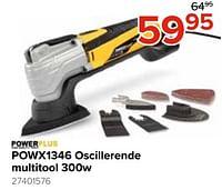 Powerplus powx1346 oscillerende multitool-Powerplus