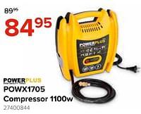 Powerplus powx1705 compressor-Powerplus