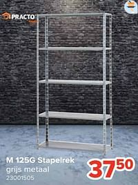 M 125g stapelrek-Practo Home