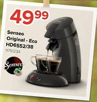 Philips senseo original - eco hd6552-38-Philips