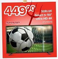 Sharp 50bj2e smart tv 50`` ultra hd 4k-Sharp
