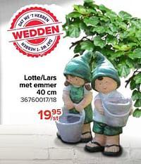 Lotte-lars met emmer-Huismerk - Euroshop