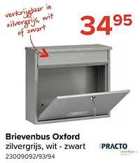 Brievenbus oxford-Practo