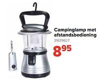 Campinglamp met afstandsbediening-Huismerk - Euroshop