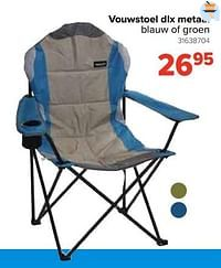 Vouwstoel dlx metaal-Huismerk - Euroshop