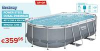 Power steel ovaal zwembad-BestWay