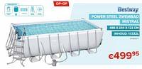 Power steel zwembad mistral-BestWay