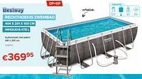Rechthoekig zwembad-BestWay