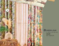 Gordijn jojas-Huismerk - Brico