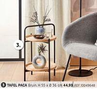 Tafel paca-Huismerk - Brico