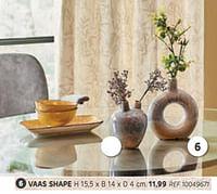 Vaas shape-Huismerk - Brico
