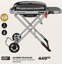 Weber gasbbq traveler-Weber