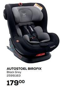 Autostoel birofix black grey-Quax