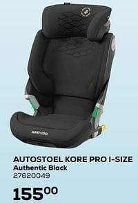 Autostoel kore pro i-size authentic black-Maxi-cosi