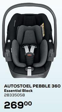 Autostoel pebble 360 essential black-Maxi-cosi