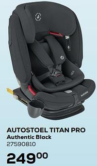 Autostoel titan pro authentic black-Maxi-cosi