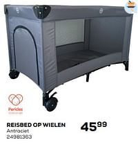 Pericles reisbed op wielen-Pericles