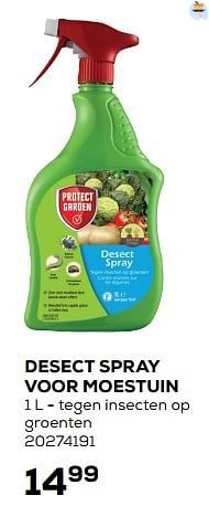 Desect spray voor moestuin-Protect Garden