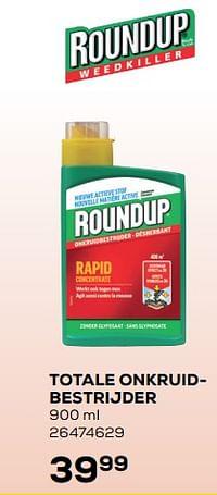 Totale onkruidbestrijder-Roundup