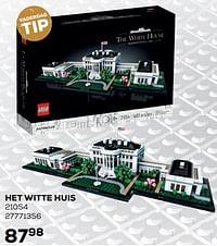 Het witte huis-Lego
