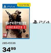 Sniper contracts 2-CI Games