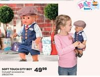 Soft touch pop jeans girl of city boy-Baby Born